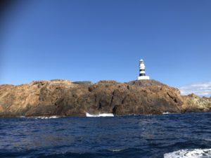 神子元島 アンドロと灯台