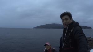 沖ノ島 東のハナ わくわく